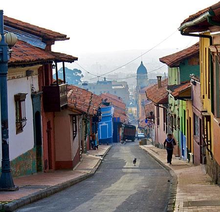 Barrio La Candelaria.  Bogota, Columbia