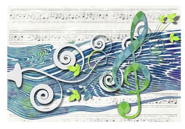 Nice Music Card Idea Paper artist, Cards, Paper art