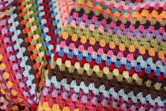 Large Granny Square Solved My Problem No More Crooked Or