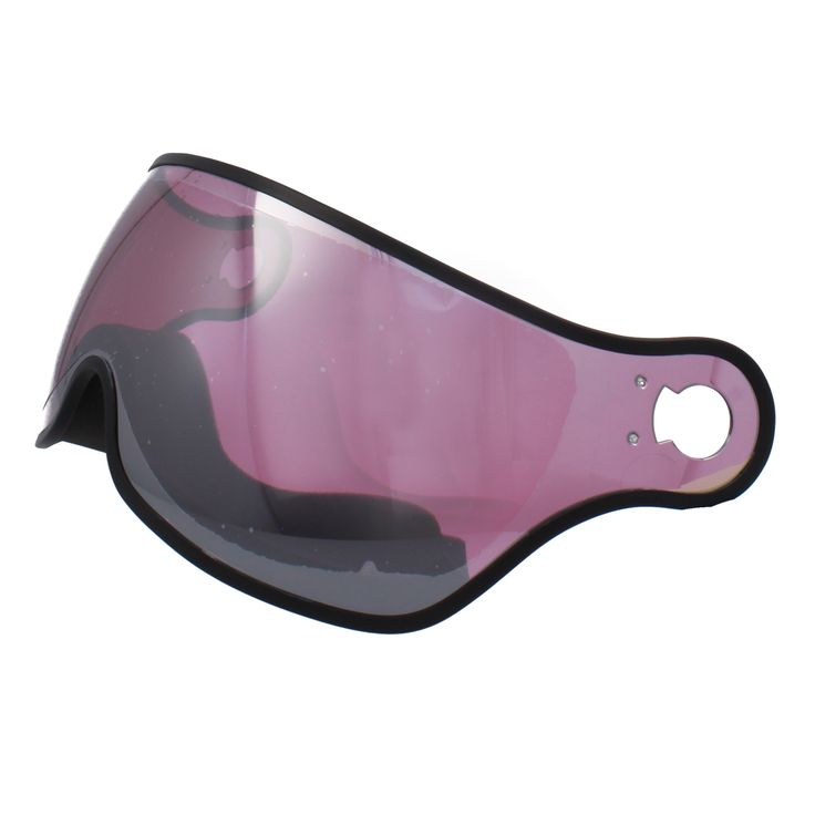 Osbe Wisselvizier (Cat.2 -?/?) - voor Proton / Rainbow / New Light R Pink Mirror  Description: Pas je aan als het weer verandert!Dat kan met dit makkelijk te verwisselen Osbe wisselvizier die toepasbaar is op alle Osbe Proton/Rainbow/New Light Rvizierhelmen. Het vizier zorgt voor een schitterend panoramisch zicht en is 100% UV werend anti-fog anti-kras en is gemaakt van polycarbonaat. Dit vizier heeft filtercategorie S2 en is door de spiegelafwerking ideaal bij alle weersomstandigheden. Met…