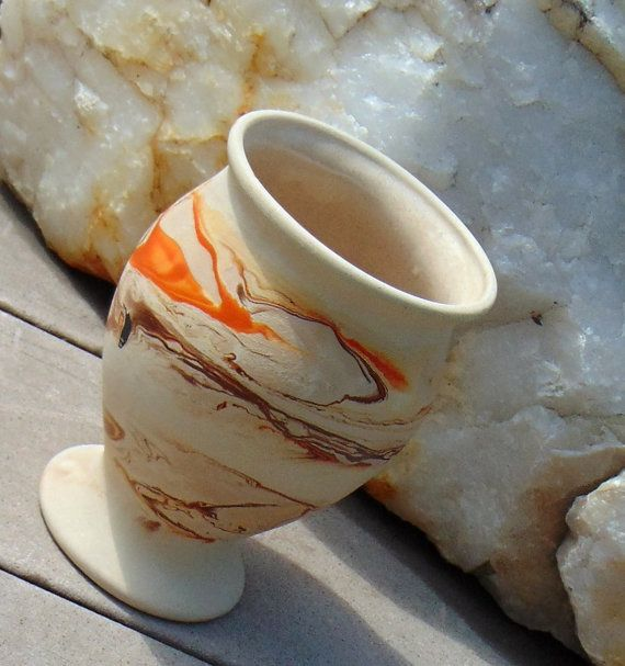 Vintage Nemadji Indian Pottery Vase Southwestern by queenbeecanada