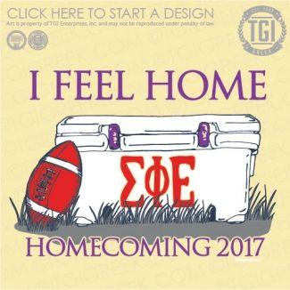 Sigma Phi Epsilon | SigEp | ΣΦΕ | Football | Fraternity Game Day | Homecoming | HOCO | TGI Greek | Greek Apparel | Custom Apparel | Fraternity Tee Shirts | Fraternity T-shirts | Custom T-Shirts