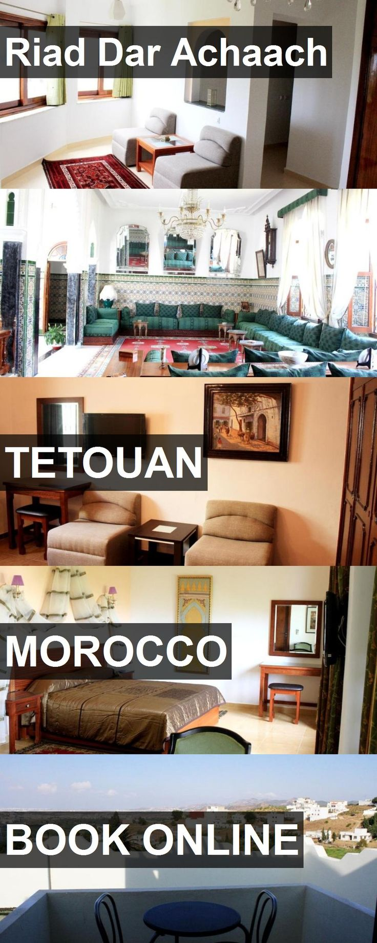 Hotel Riad Dar Achaach in Tetouan, Morocco. For more information, photos, reviews and best prices please follow the link. #Morocco #Tetouan #travel #vacation #hotel
