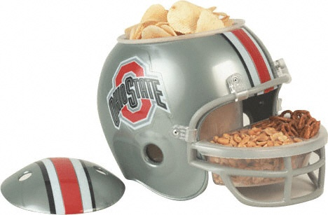 Ohio State Football Party Snack Helmet