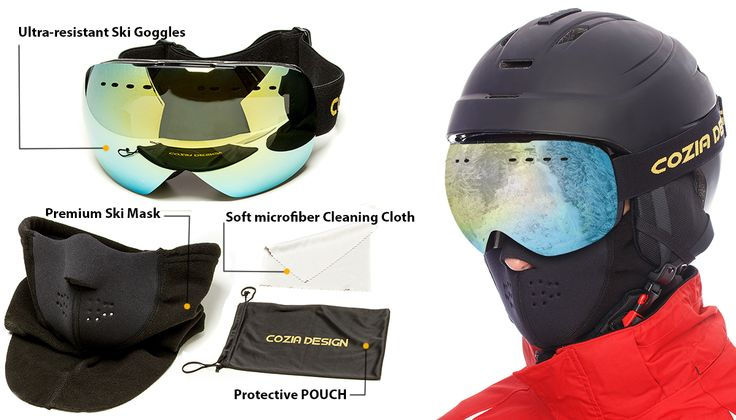 Perfect ski bundle pack, what more could you wish for this season? #ski #skigoggles