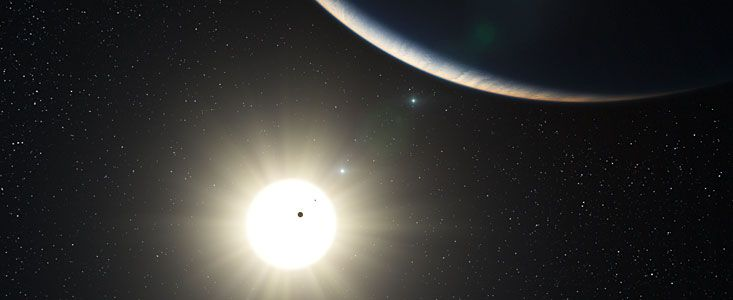 ESO - eso1035 - Richest Planetary System Discovered