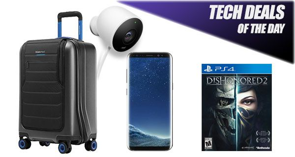 Tech Deals: $150 Off Galaxy S8, $40 Off Nest Cam Outdoor, Dishonored 2 For PC / Xbox One / PS4, More Check more at http://technews4u.net/tech-deals-150-off-galaxy-s8-40-off-nest-cam-outdoor-dishonored-2-for-pc-xbox-one-ps4-more/