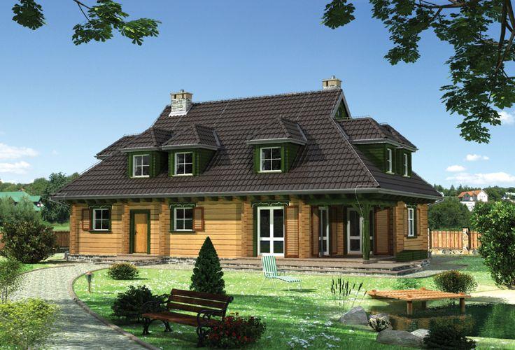 DOM.PL™ - Projekt domu AN SĘKACZ CE - DOM AN7-07 - gotowy projekt domu