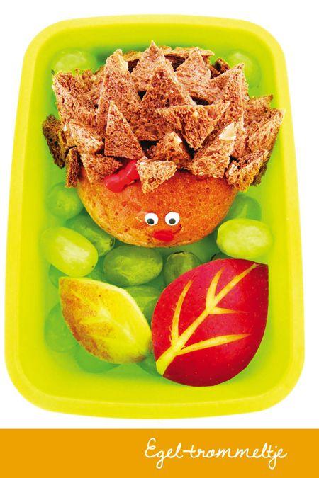 egel op brood | Moodkids | http://www.moodkids.nl/food/bento