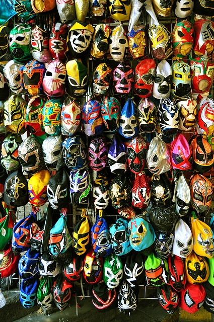 Luchador masks. Why not?