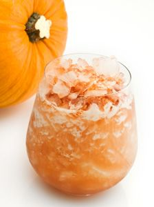Pumpkin infused vodka drinks
