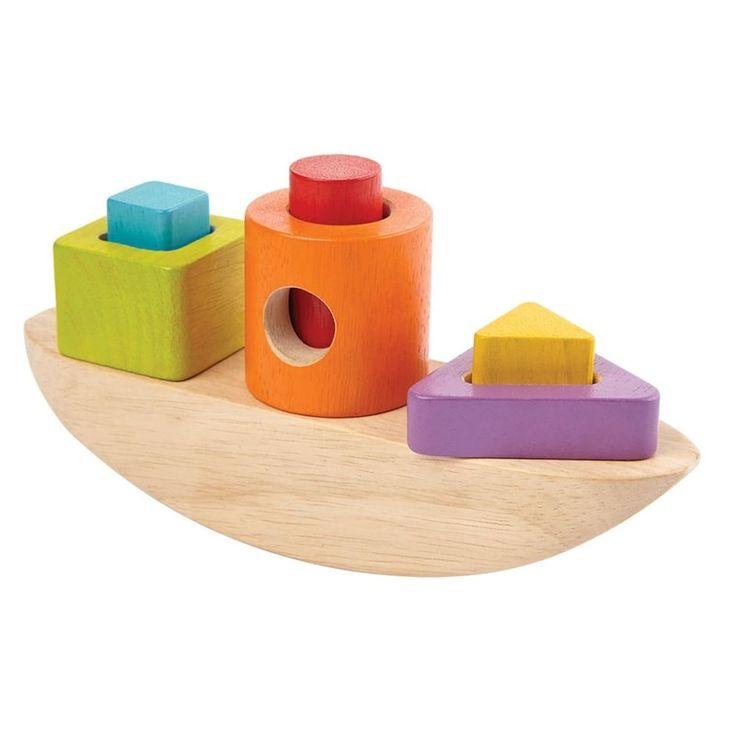 Boot zum Sortieren von PlanToys ✓ Jetzt online kaufen ✓ Lernspielzeug aus Holz ✓ Schadstofffreie Materialen ✓ Hergestellt aus Öko-Holz ✓ Versandkostenfrei!