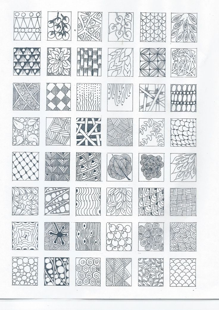 Top 5641 ideas about zentangles and op art on pinterest for Basic doodle designs