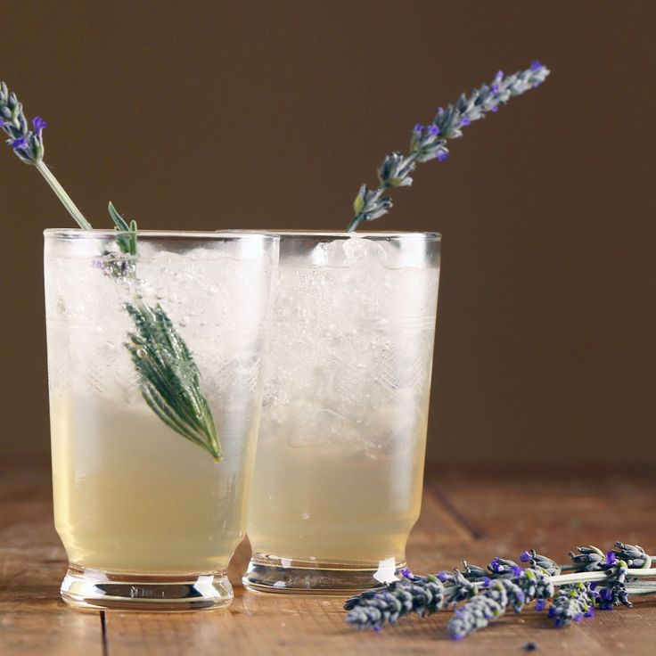 Sparkling Chardonnay Cocktail with Gin, Honey and Lavender - Maggie Beer