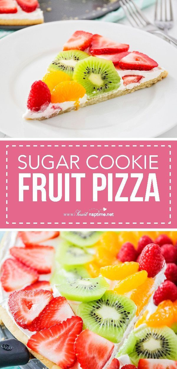 Fruchtpizza, Fruit Pizza Rezept