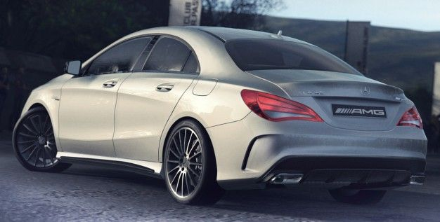 "2014 #Mercedes-Benz CLA45 #AMG: Launch Timing and First Official ""Photo"""