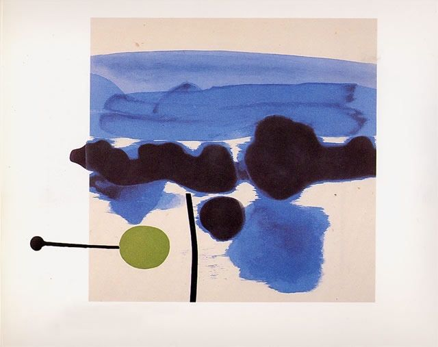 ArtCentric: The Passion Flower  Victor Pasmore, 1986
