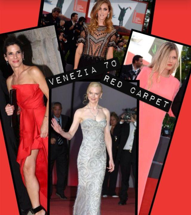 Red carpet venezia 70
