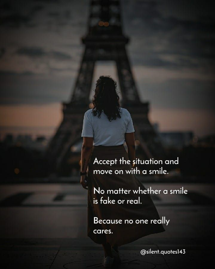 Follow Silent Quotes143 Portrait Credit Respected Owner Dm For Credit Or Removal In 2020 Silent Quotes Happy Life Quotes Inspirational Quotes For Girls