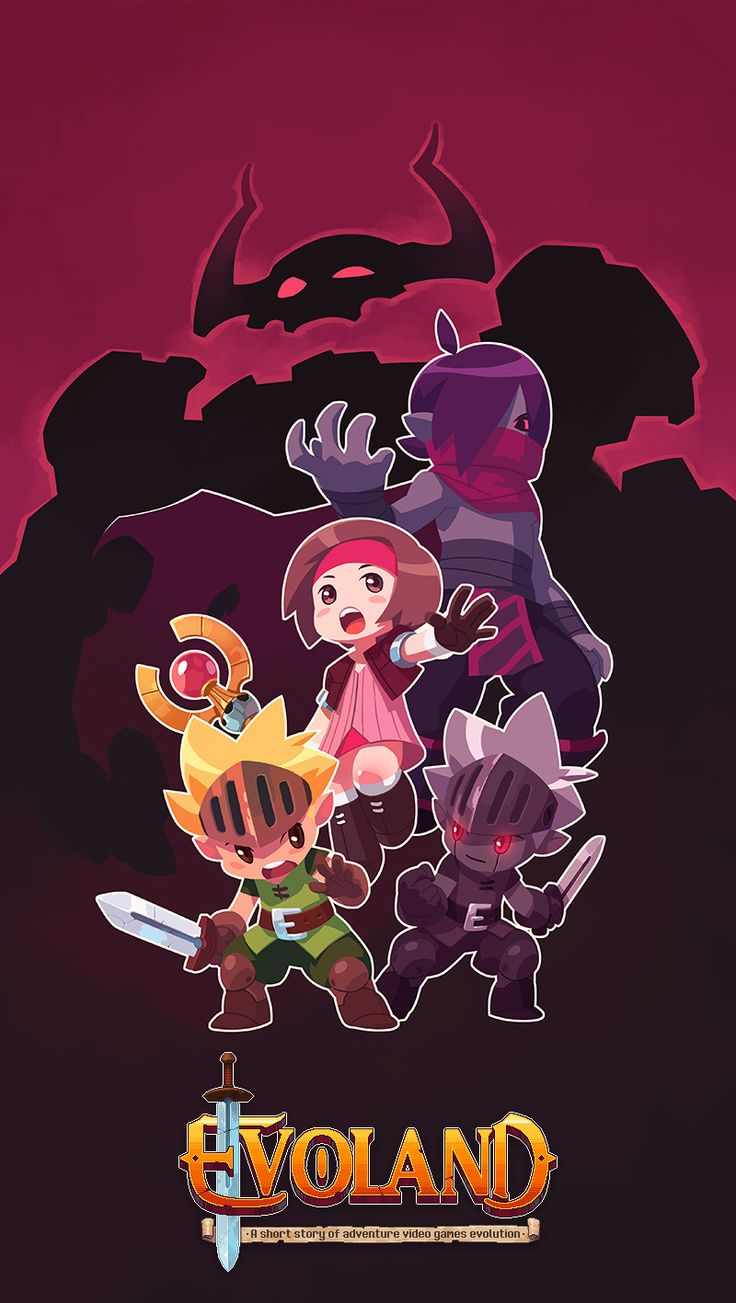 Evoland key art by ~Kurunya on deviantART