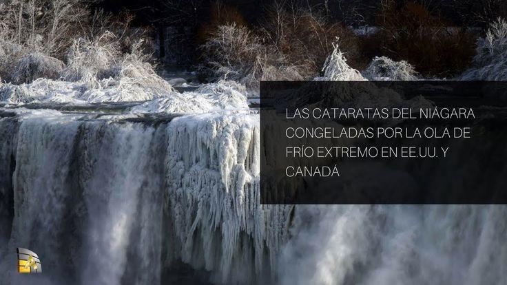 Las cataratas del Niágara, congeladas por la ola de frío extremo en EE.U...