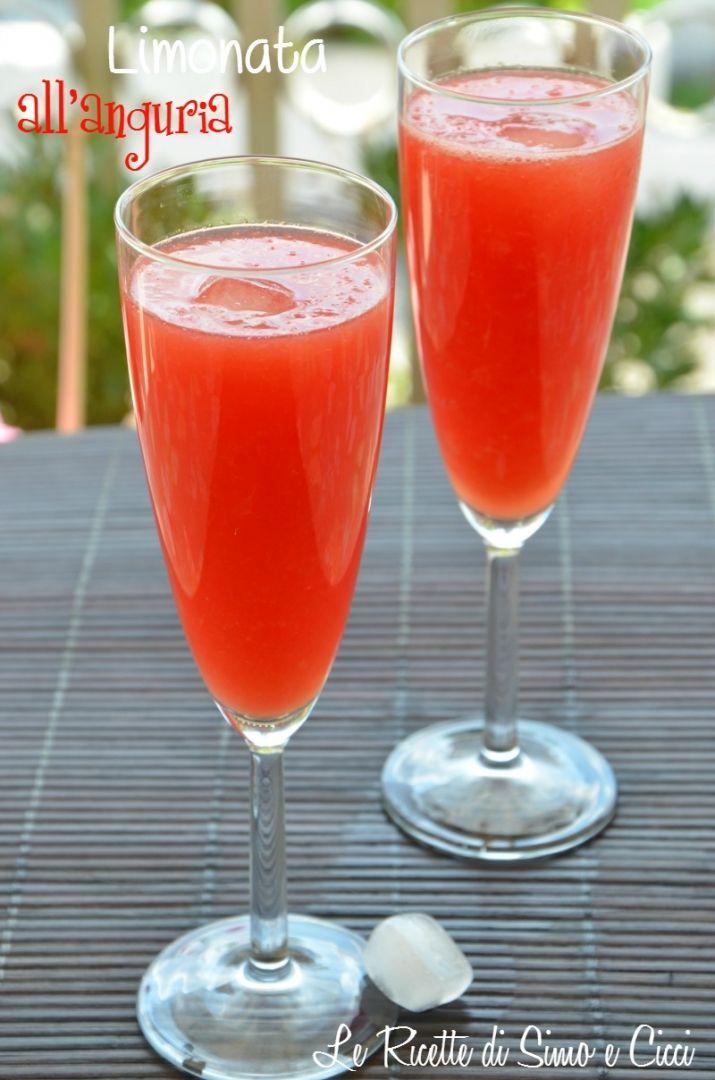 Limonata all'anguria - Le Ricette di Simo e Cicci