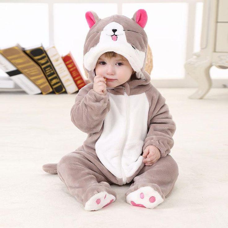 @ V-TREE Barboteuse Pyjama Combi-pilote Animaux bébé enfants @ 6 modèles disponibles