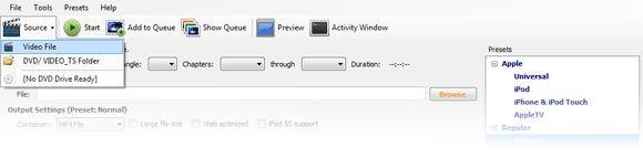 Converter videos para ipad
