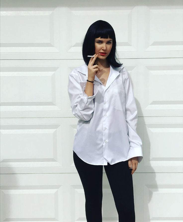 mia wallace costume zh27 regardsdefemmes. Black Bedroom Furniture Sets. Home Design Ideas