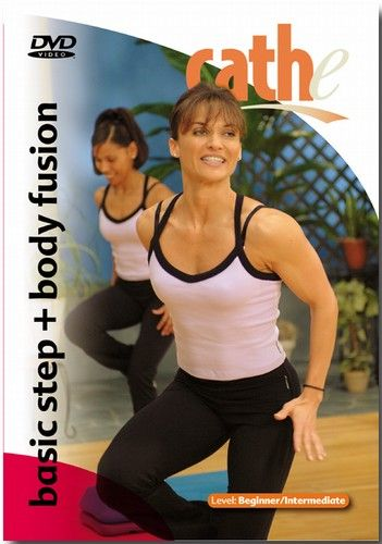 Cathe Friedrich's Basic Step + Body Fusion- would really like to try this one. I love Cathe's workouts and she is so encouraging during the ones I do!