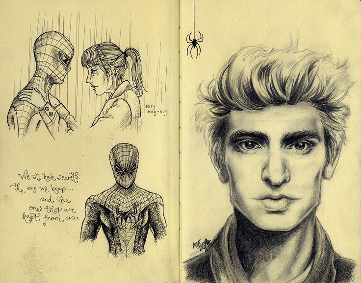 The Amazing Spiderman, moleskine, 2013
