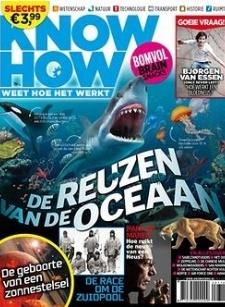 Het tijdschrift Knowhow heeft als slogan: weet hoe het werkt. In korte artikelen (brain snacks) wordt haarfijn uitgelegd hoe dingen werken. Er is aandacht voor wetenschap, natuur, technologie, transport, historie en de ruimte in hapklare brokken. Kortom, het medicijn voor jouw hongerige brein