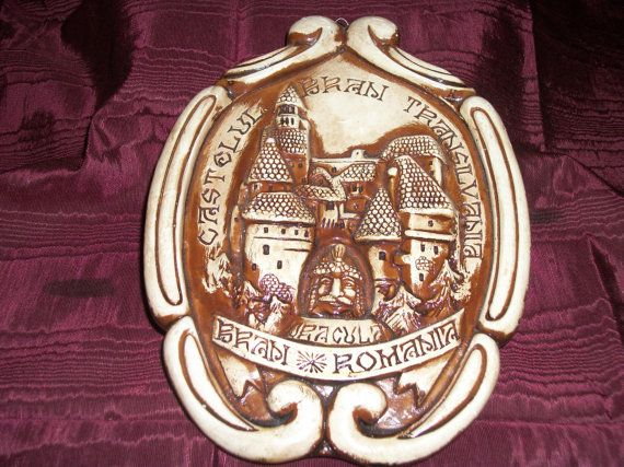 Souvenir of Castelul Bran Transylvania (Castle Dracula) on Etsy, $18.00