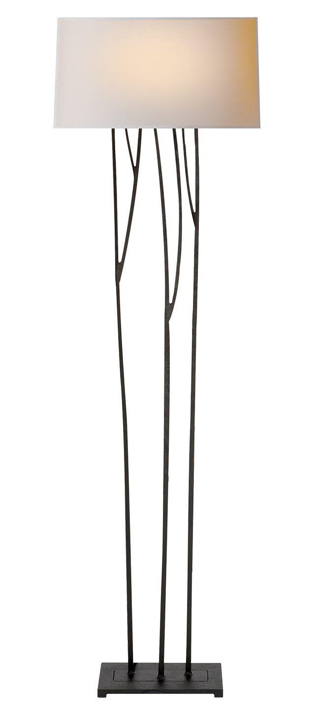 Aspen Floor Lamp, Black Rust