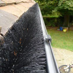 Hedgehog Gutter Guard Leaf Filter by The Recycle Works, http://www.amazon.co.uk/dp/B0047UEC0S/ref=cm_sw_r_pi_dp_P0gEtb1BN75F4