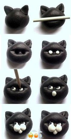 Cat Polymer Clay Tutorial
