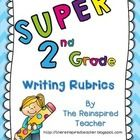 These rubrics are based on our county's new writing textbooks, Being a Writer. However, the rubrics can be used in any writing curriculum, and cove...