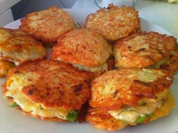 Лучшие кулинарные рецепты: Кабачковые оладьи
