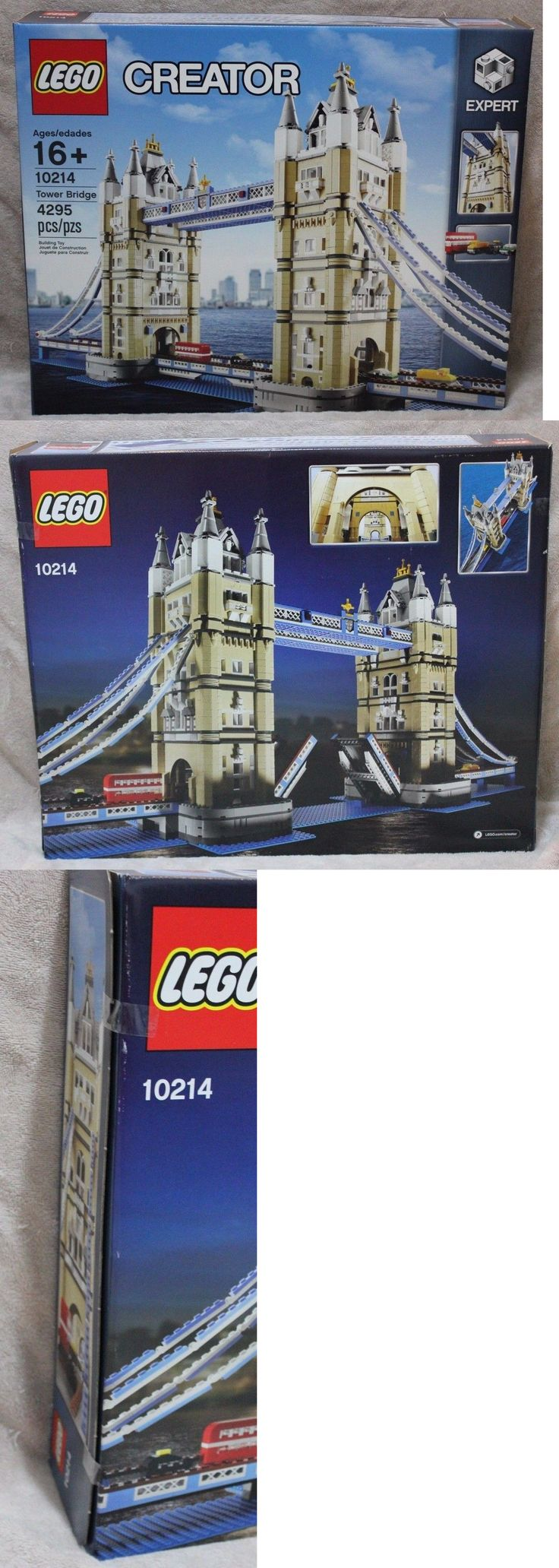 LEGO Complete Sets and Packs 19006: New Tower Bridge 4287 Pieces Lego 10214 Factory Sealed -> BUY IT NOW ONLY: $224.99 on eBay!