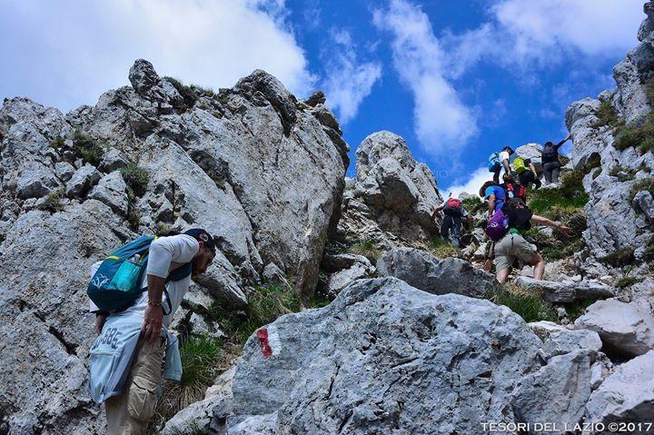 Tesori del Lazio 2017 salita in vetta al #Terminillo: un'#escursione tra le Dolomiti del #Lazio!