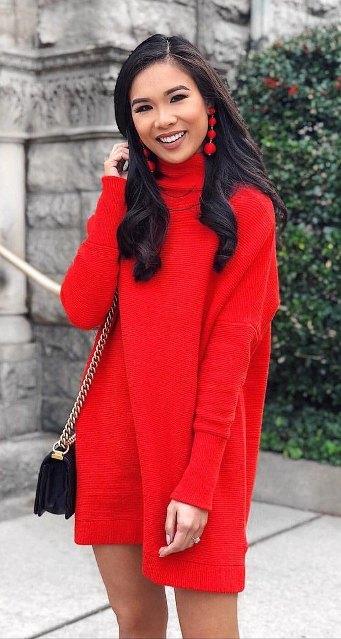 Best 25  Red turtleneck ideas on Pinterest | Full eyebrows, Thick ...