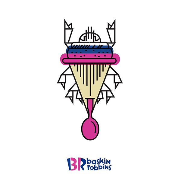 Baskin Robbins by Kickatomic