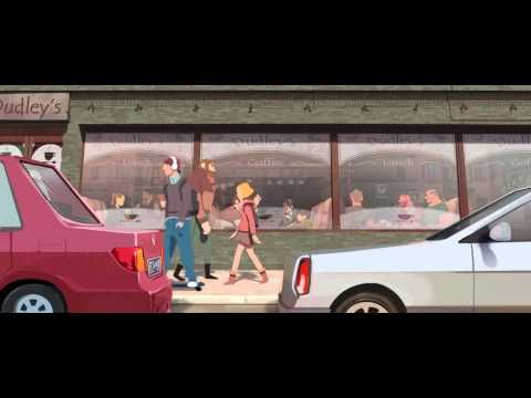 """""""One day"""" a beautiful French animated short (4 min) that reminds me that good visual storytelling with a twist is enough to surpass language barriers."""
