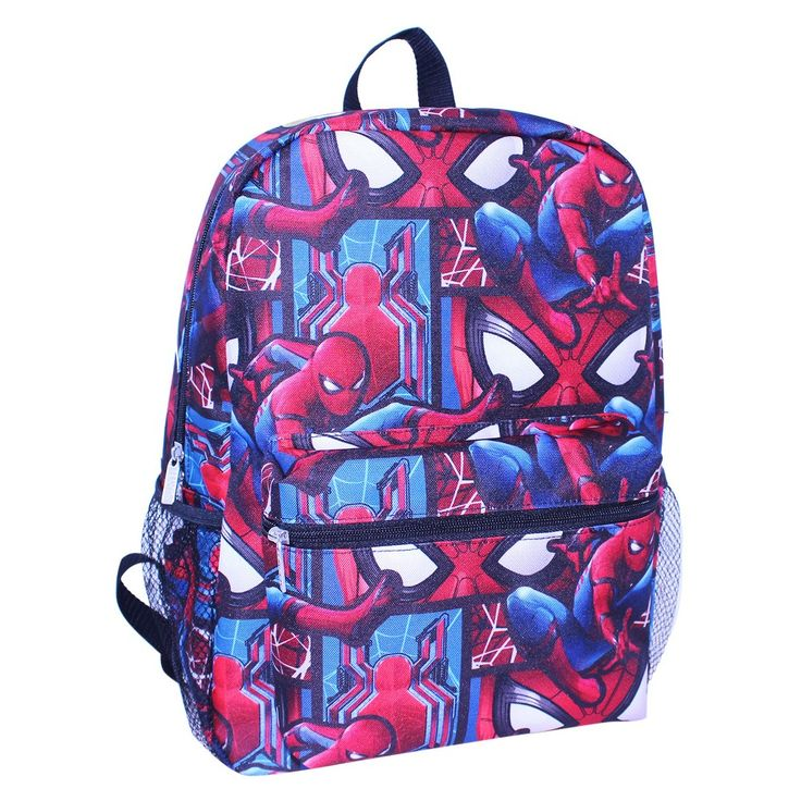 Spider-Man 16 All Over Print Kids' Backpack,