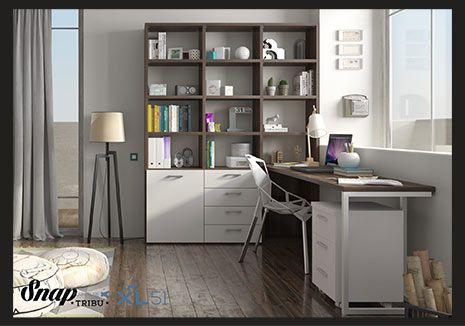 Despatx habitatge de disseny / Despacho hogar de diseño #Tortosa #Terresdelebre #Mobles #Muebles #Despatx #Despacho #Oficina