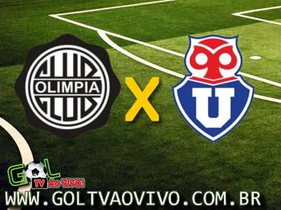 Assistir Olimpia x Universidad de Chile ao vivo Libertadores 2013 | GOL TV AO VIVO !!!