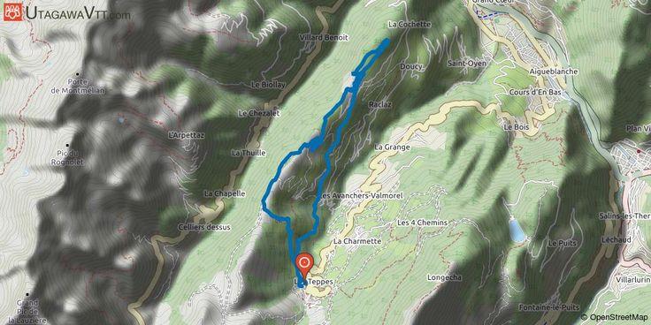 [Savoie] Valmorel - Tata Rustine Itinéraire XC du domaine VTT de Valmorel.  Ce parcours de cross-country relie la station de Valmorel à celle de Doucy par de petits chemins agricoles et grimpe par la crête de Combelouvière afin d'offrir un splendide panorama sur les vallées environnantes avant de redescendre par un single ludique.