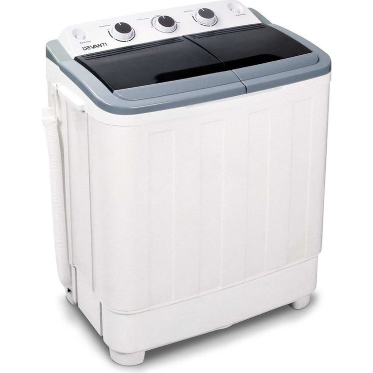 Twin Portable Washing Machine & Spin Dry 5kg 30L | Buy Portable Washing Machines