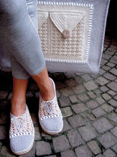 Matching Bag & Street Shoes 3 in 1 Crochet Pattern