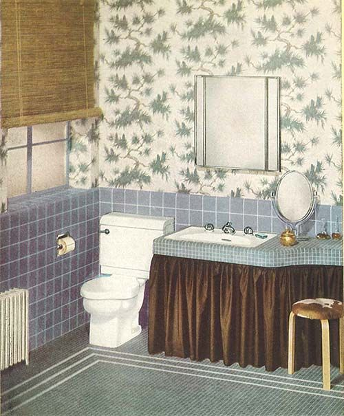 17 best images about 1940s bathroom on pinterest for Bathroom ideas 1940